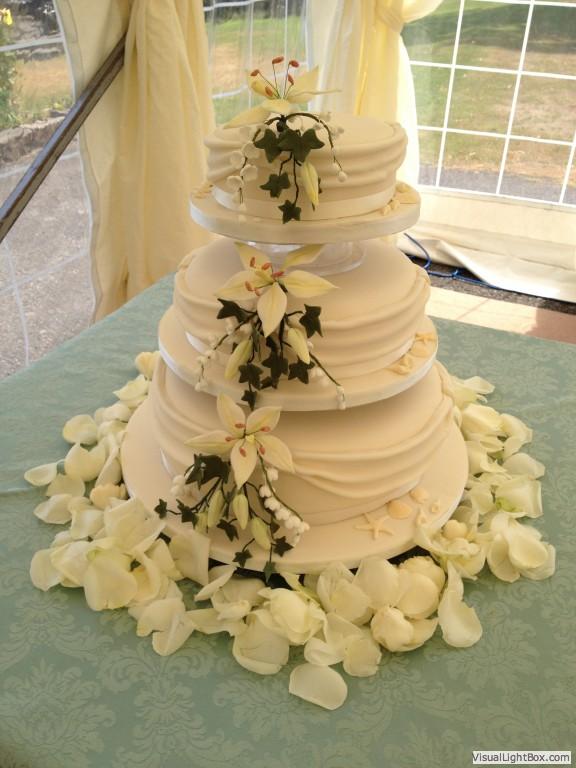 Wedding Cakes | Celebration Cakes | Gwynedd, North Wales, Abersoch ...